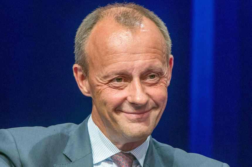 Mr Armin Laschet, premier of North Rhine-Westphalia state, has often backed Dr Merkel's moderate course. Health Minister Jens Spahn is an outspoken critic of what he sees as Dr Merkel's overly 'social-democratic' party line. Ms Annegret Kramp-Karrenb