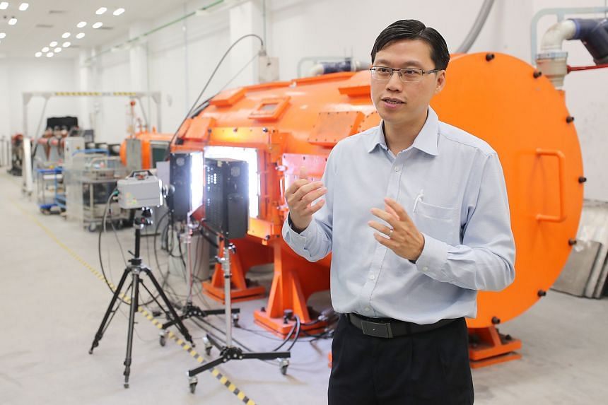 Professor Gan Chee Lip, director of Temasek Laboratories @ Nanyang Technological University, was one of the seven winners of the Defence Technology Prize yesterday.