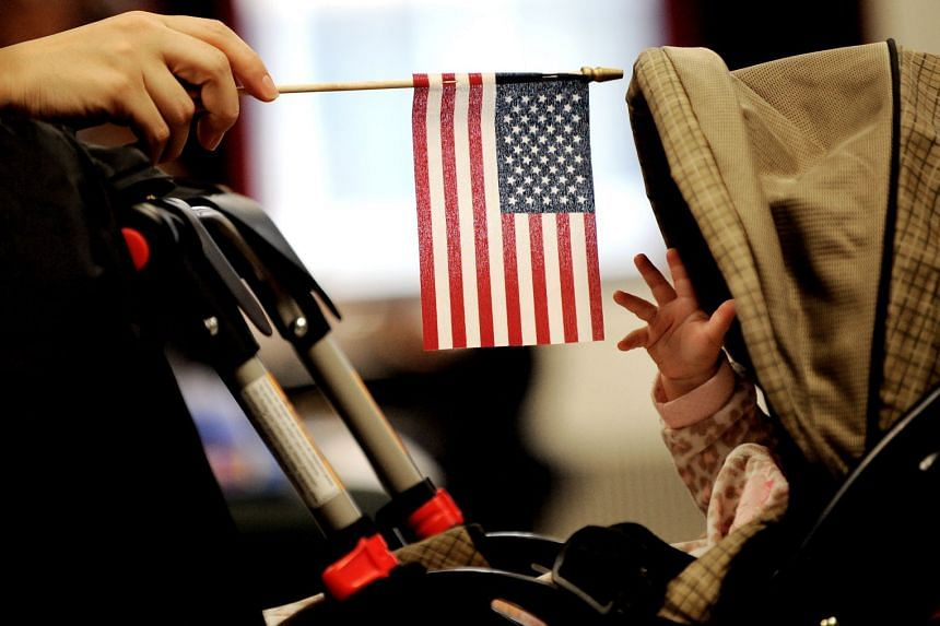 The Constitution's 14th Amendment grants citizenship to anyone born on American soil.