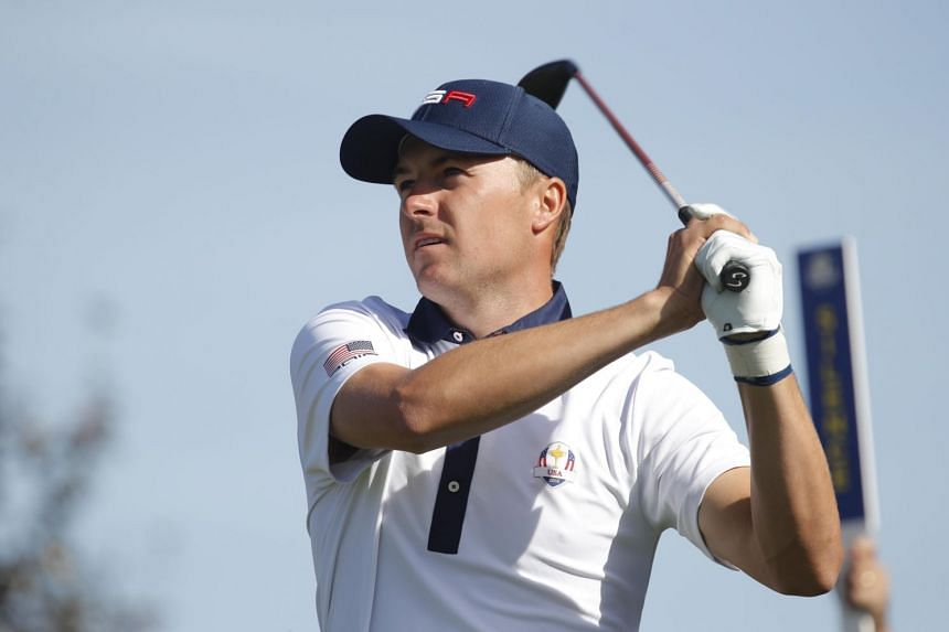 Team USA's Jordan Spieth during the Ryder Cup Foursomes.
