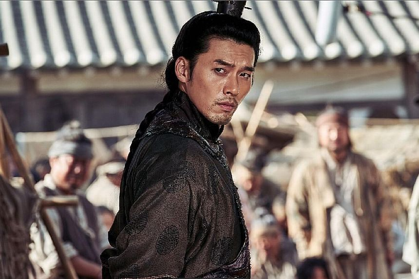 Hyun Bin plays Prince Ganglin in a zombie flick set in the Joseon dynasty.