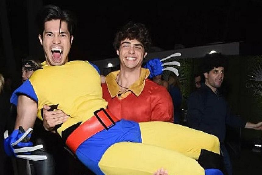(Left) NOAH CENTINEO, 22, AND ROSS BUTLER, 28 (right)