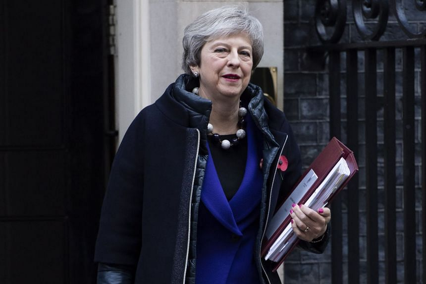 British PM Theresa May has struck a deal that would give UK companies access to European markets as long as British financial regulation remained broadly aligned with the EU's.