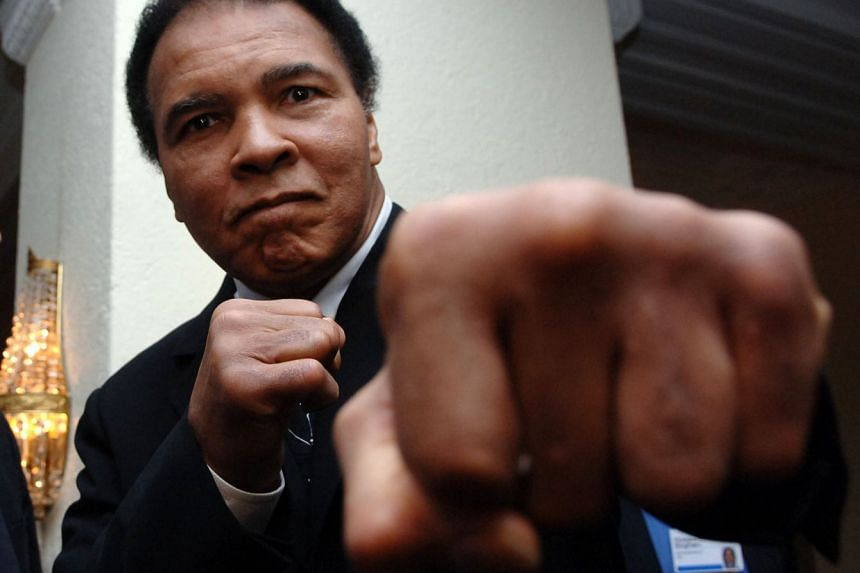 Late boxer Muhammad Ali, pictured above in 2005, suffered from Parkinson's disease.