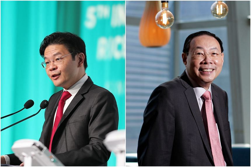 Minister for National Development and Second Minister for Finance Lawrence Wong (left) and chief executive officer of Asia Pacific at State Street Bank and Trust Company Seck Wai Kwong will be joining GIC's board of directors.