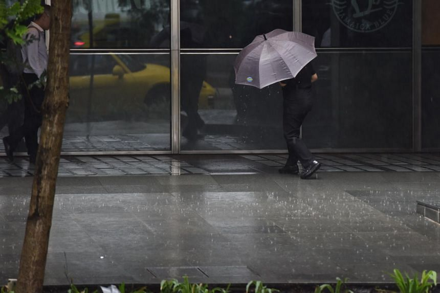 Widespread thundery showers accompanied by gusty winds are expected on two or three mornings in the next fortnight.