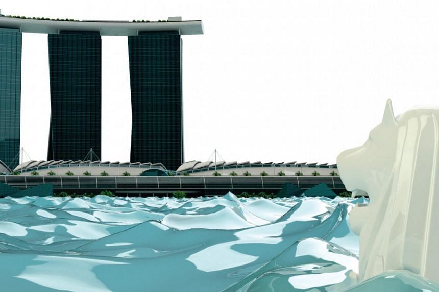 The project will take viewers on a four-minute journey through Singapore in 2100, from a river cruise at Boat Quay, to the Merlion Park and the Marina Bay Sands Skypark.