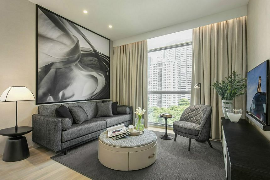 The gain in gross revenue was mostly due to the additional revenue of $6.2 million from the acquisition of Ascott Orchard Singapore (above) and DoubleTree by Hilton Hotel New York - Times Square South.