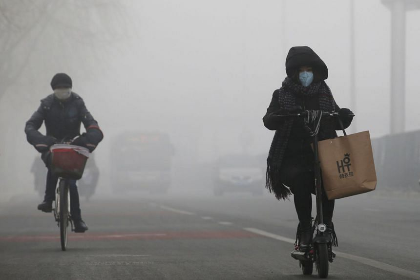 """Though smog has been cut rapidly during a """"war on pollution"""" now in its fifth year, environmental groups have warned that China has been """"backsliding"""" on its environmental commitments."""