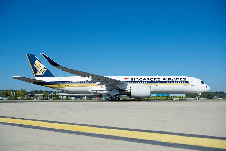 The Airbus A350-900 aircraft. With the launch of services on Sept 3, 2019, Seattle will become Singapore Airlines' fourth non-stop US destination.