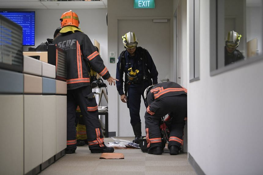 Several tests were conducted on the envelope by SCDF's HazMat specialists and no harmful substances were detected.