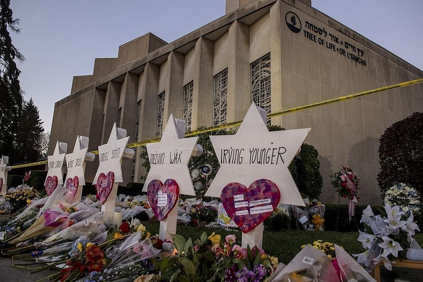 Robert Bowers, 46, has been indicted on 44 counts and could receive the death penalty if convicted. Robert Bowers, armed with multiple firearms, is said to have stormed the Tree of Life synagogue last Saturday and opened fire indiscriminately. He all