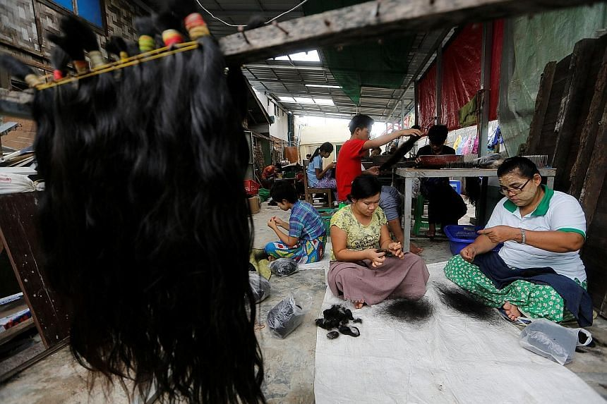 Myanmar rakes in fortune from human hair trade, SE Asia News & Top