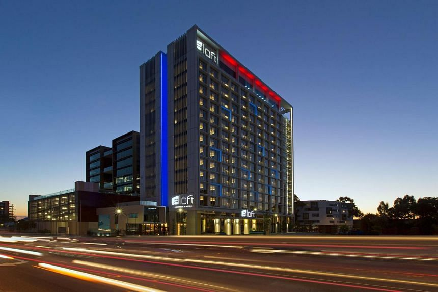 Located at 25-27 Rowe Avenue, Rivervale, Western Australia, the Aloft Perth hotel is managed by Starwood Australia Hotels.