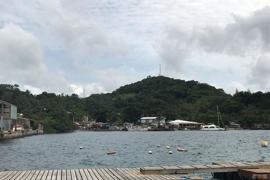 Palau's dive sites typically hosted about four boats an hour packed with tourists, leading to concerns a build-up of chemicals could see the reefs reach tipping point