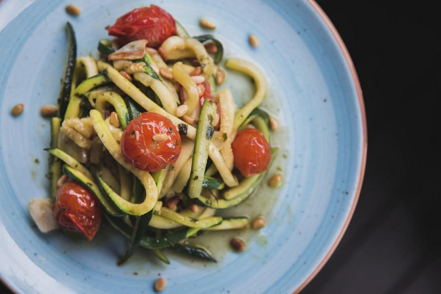 Lino's Zucchini Noodles ($24) sounds more interesting than it turns out.