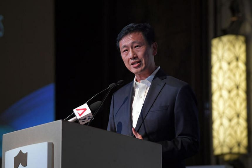 """Education Minister Ong Ye Kung said: """"All of our successful companies have built good brand names, which are anchored on capabilities and what your products and services stand for."""""""