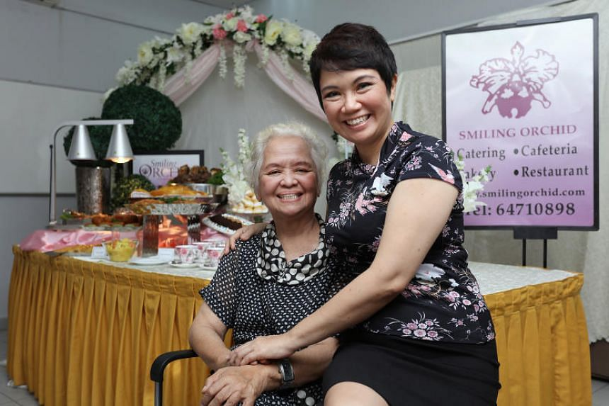 Smiling Orchid founder Choo Yen Lan with her youngest daughter Meilyn Choo-Jaimon.
