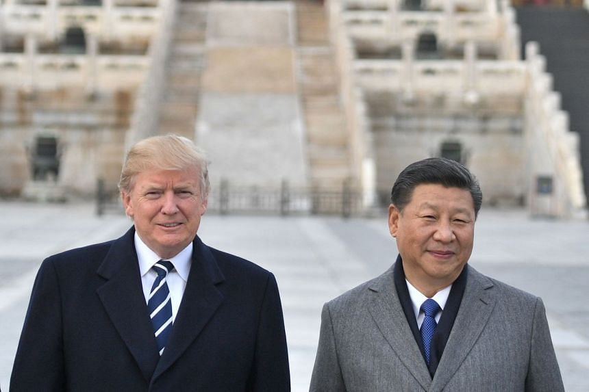 Chinese President Xi Jinping and US President Donald Trump think they should enhance trade relations, said a Chinese foreign ministry spokesman.
