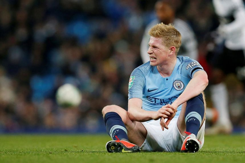 Kevin De Bruyne had scans that revealed his left knee injury is serious enough that he is unlikely to be back in action until mid-December, although he does not require surgery.
