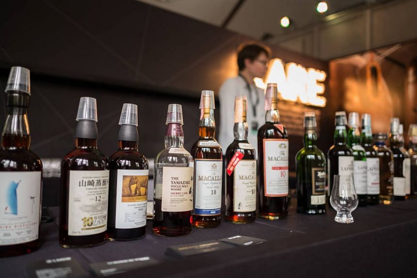 The 2017 edition of Whisky Live. The biggest whisky event in Singapore will return on Nov 3 and 4, 2018, at the Andaz hotel.