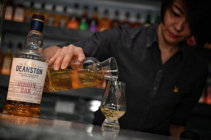 At The Copper Plate, drinkers will have the option of having whisky by the carafe, which will start at $50 and range in price depending on the whisky of choice.