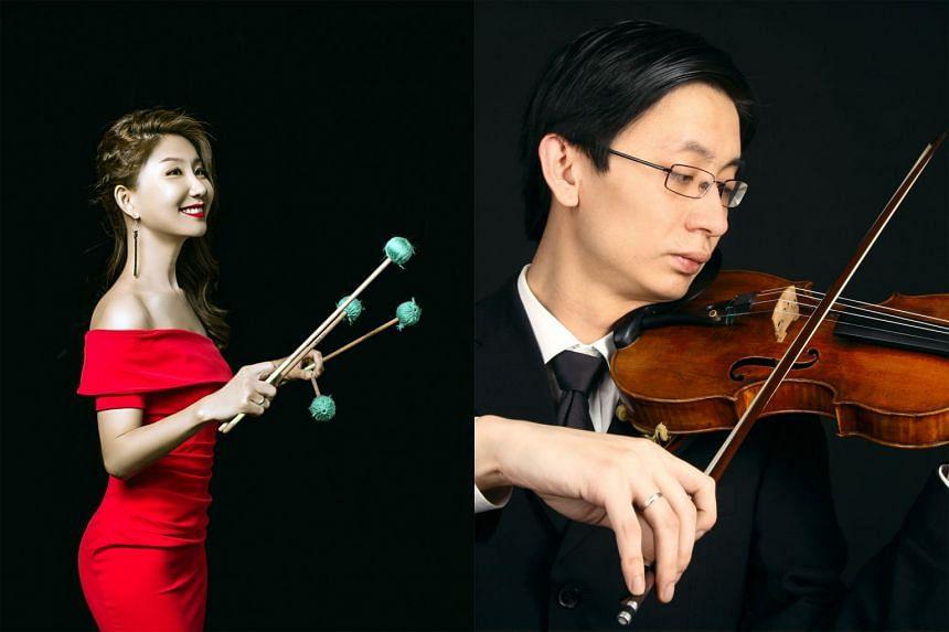 Hu Shengnan and Lu Wei.