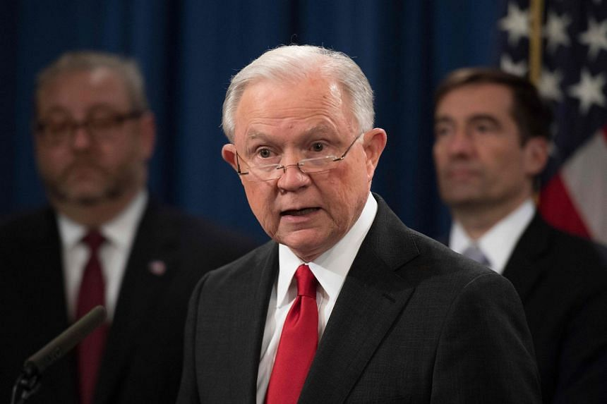 Sessions announces the creation of a new initiative to crack down on Chinese intelligence officials pilfering intellectual property from US corporations through hacking and espionage.