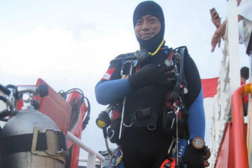 Mr Syachrul Anto, 48, is believed to have died due to decompression issues.