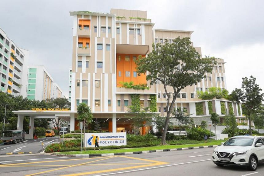 Yishun Polyclinic's new, bigger campus in Yishun Avenue 9 has been open to the public since July.