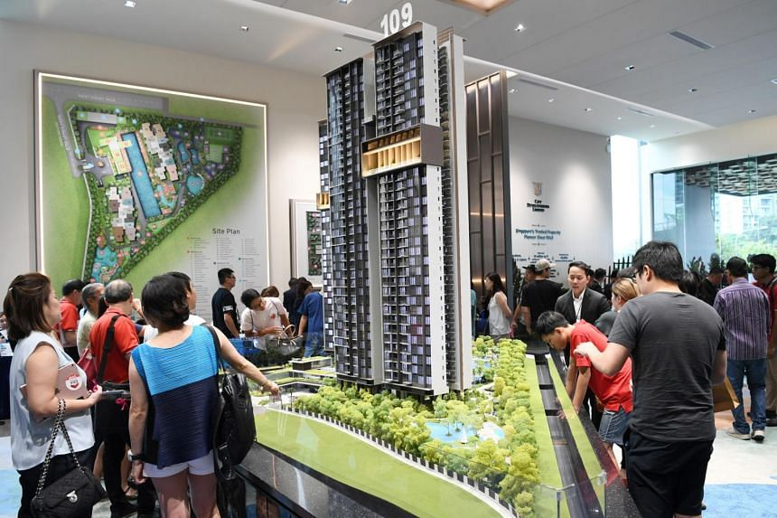 Some 150 of 240 units launched on Nov 3 were snapped up as of 5pm, said CDL.