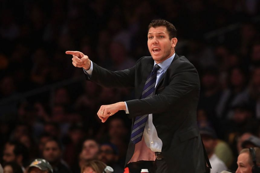 Los Angeles Lakers coach Luke Walton had come under fire from the team's president of basketball operations over the sluggish start to the season.