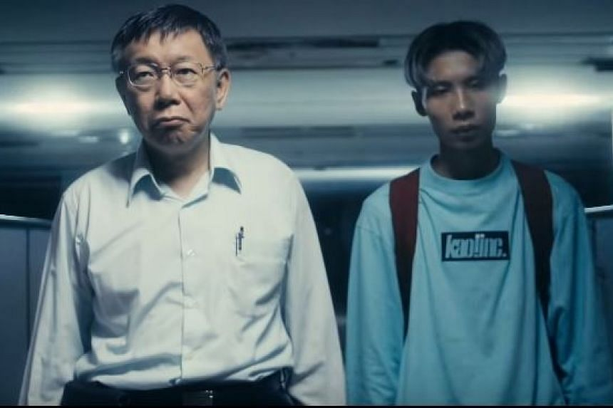 Taiwan Mayor Ko Wen-je's video has now racked up 1.3 million views and is one of the most-watched videos in Taiwan.