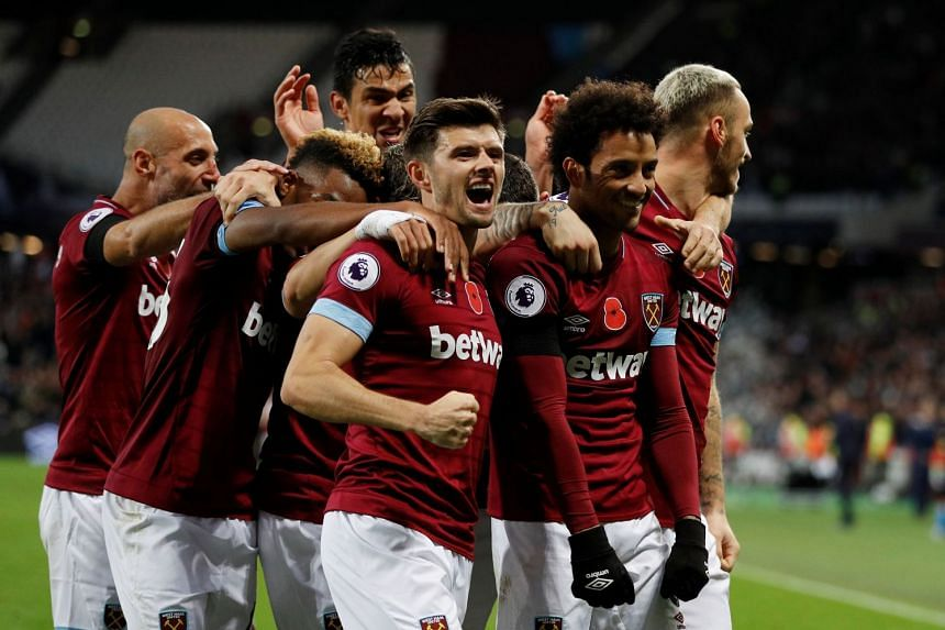 Football Anderson Brace Earns West Ham Thrilling Win Over Burnley Football News Top Stories The Straits Times