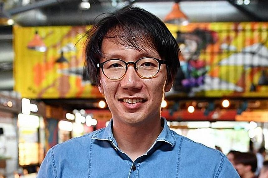 """Mr Edward Chia, managing director of Timbre Group, which runs Yishun Park Hawker Centre, decided to throw in his hat """"to provide a platform for incubation of new hawker talent, and to accelerate the growth and renewal of the hawker industry""""."""