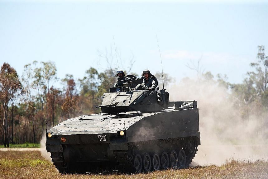 The Bionix is a family of tracked armoured fighting vehicles, or tanks, developed by Singapore Technologies Kinetics.