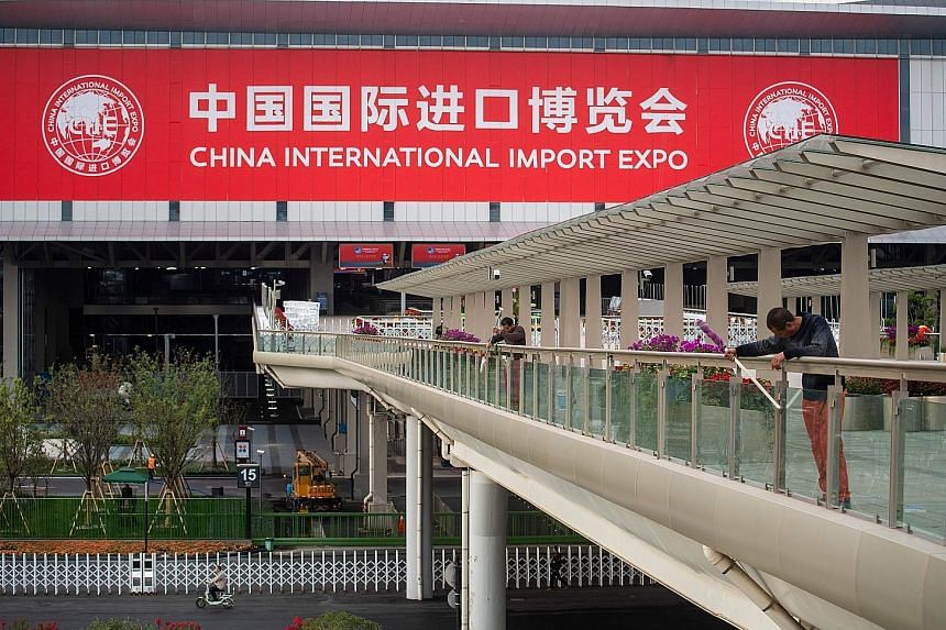 The China International Import Expo, which starts tomorrow, will showcase the products and services of more than 80 Singapore firms.