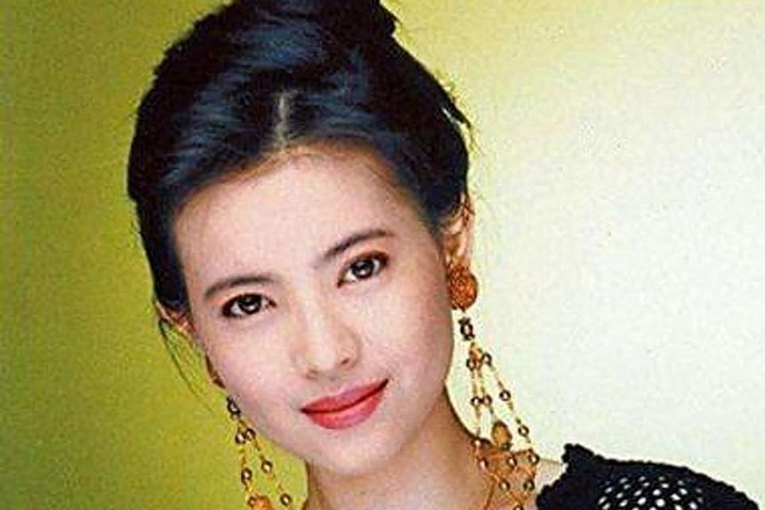 Above: Yammie Lam began her television career as a Hong Kong TVB talent. She joined the TVB actor training programme in 1983. Left: Lam in her most famous role as Spider Woman in A Chinese Odyssey.