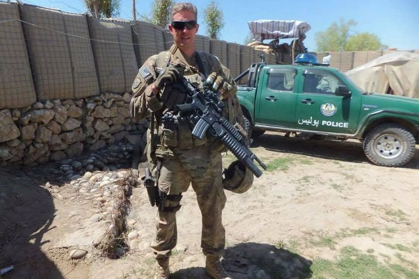 Mr Brent Taylor had taken leave from his job to serve in the Utah National Guard.