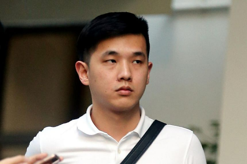 Ong Jian Min was also disqualified from driving all classes of vehicles for two years.