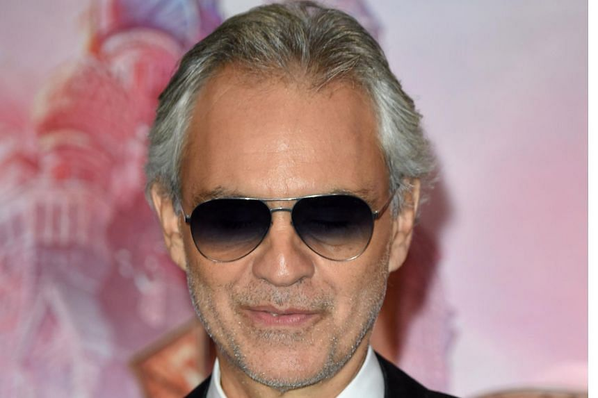 Andrea Bocelli in London on Nov 1, 2018. It took 26 albums for the Italian tenor to top the Billboard chart.