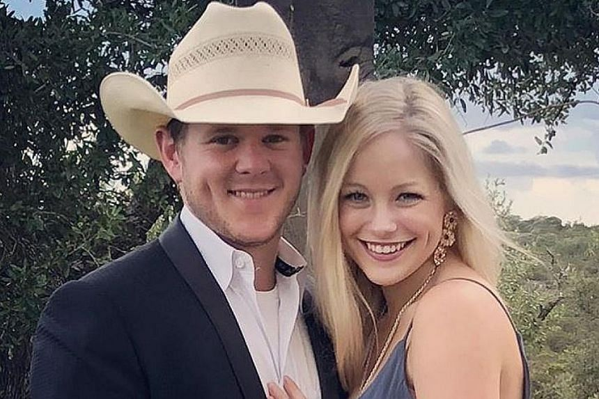 Texan couple Will Byler and Bailee Ackerman had celebrated their nuptials at the Byler ranch before leaving in a helicopter.
