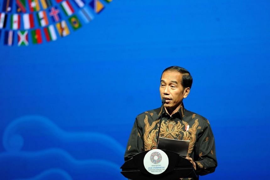 """Indonesia's President Joko """"Jokowi"""" Widodo used the term Pacindo when referring to the Pacific and Indian Ocean region in his maiden speech at the Asean summit in 2014."""