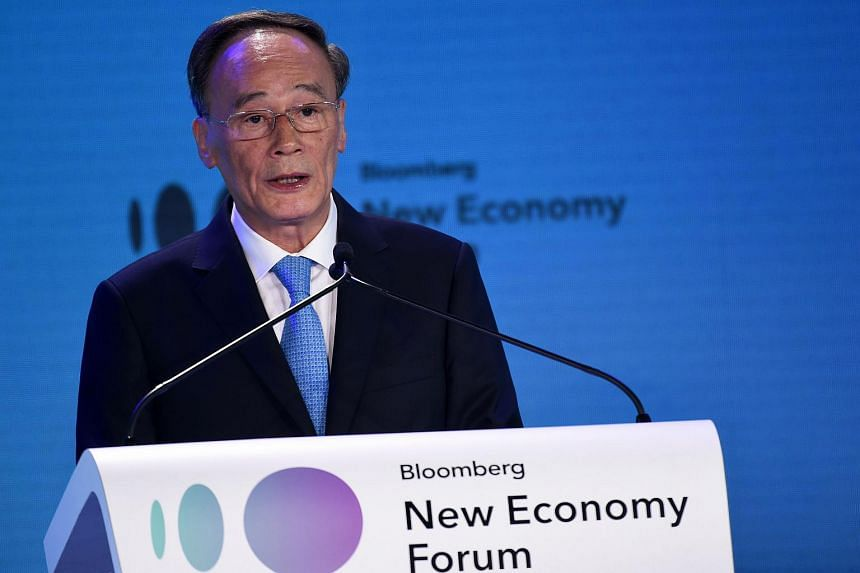 The world today faces many problems that require close cooperation between the US and China, said Chinese Vice-President Wang Qishan.