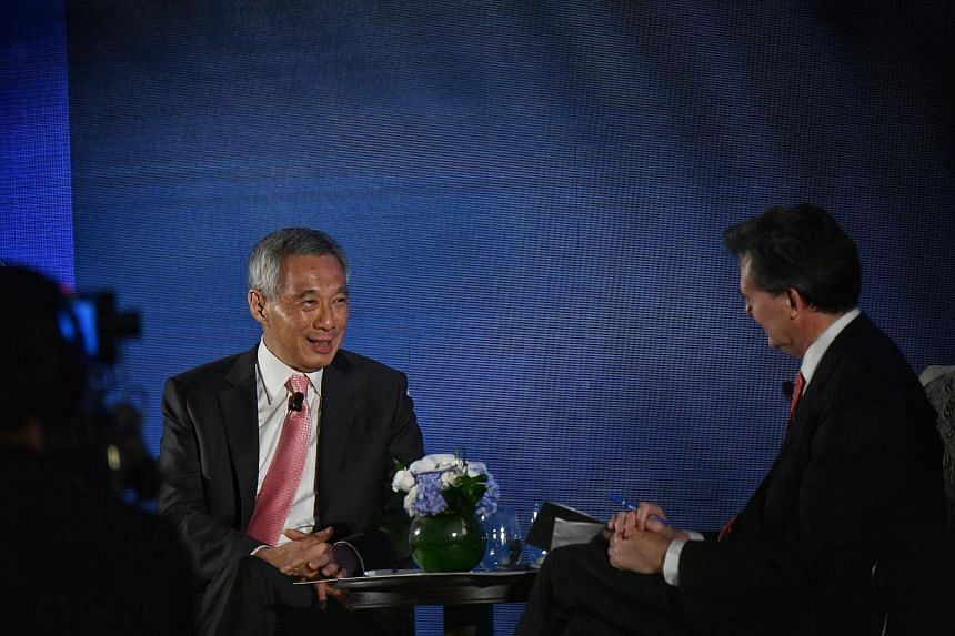 PM Lee Hsien Loong was asked if the bicentennial might be a reason to bring forward the general election, which must be held by January 2021.