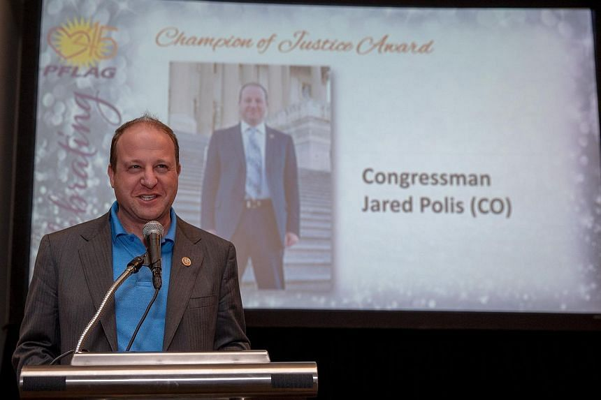 Democratic Congressman Jared Polis, 43, was open about his sexual orientation during the campaign, often referring to it in his criticism of President Donald Trump.