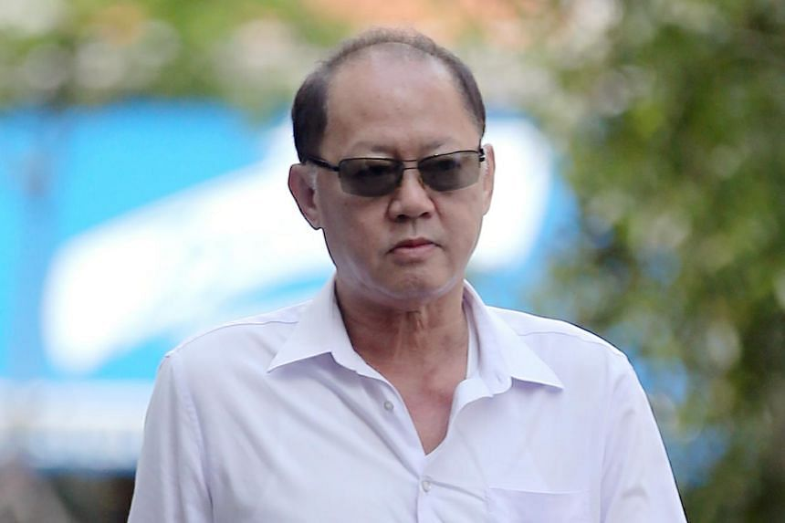 Company director Chia Sin Lan, 63, on Nov 7, 2018. His companies - 19-ANC and 19-NS2 - each face one charge of corruption.