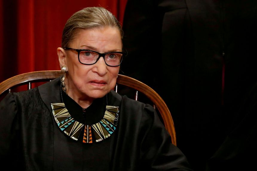 Ginsburg, who was appointed by president Bill Clinton in 1993, is one of four liberal justices on the nine-member court.