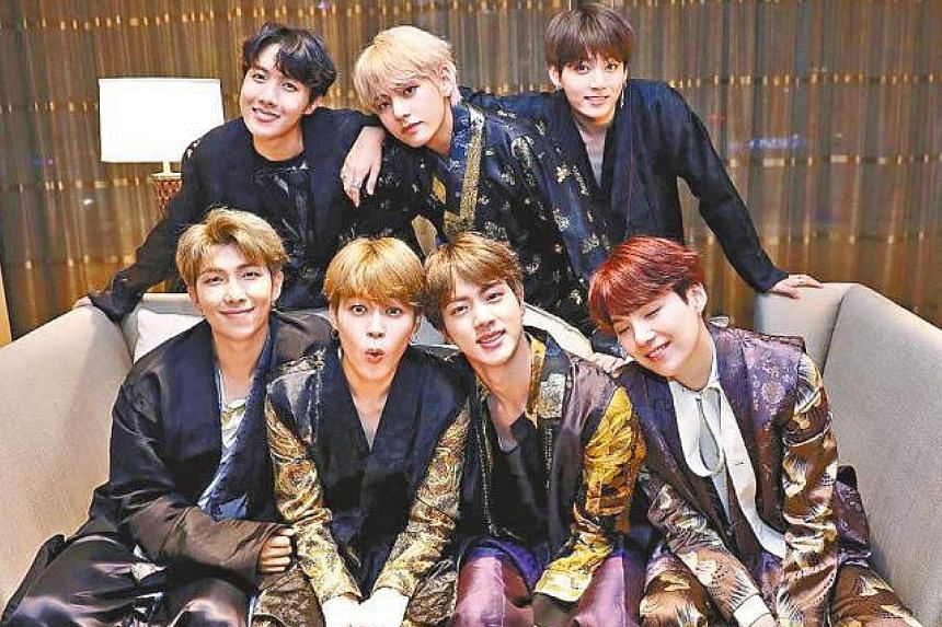 K-pop group BTS received a total of six awards at the MBC Plus X Genie Music Awards.