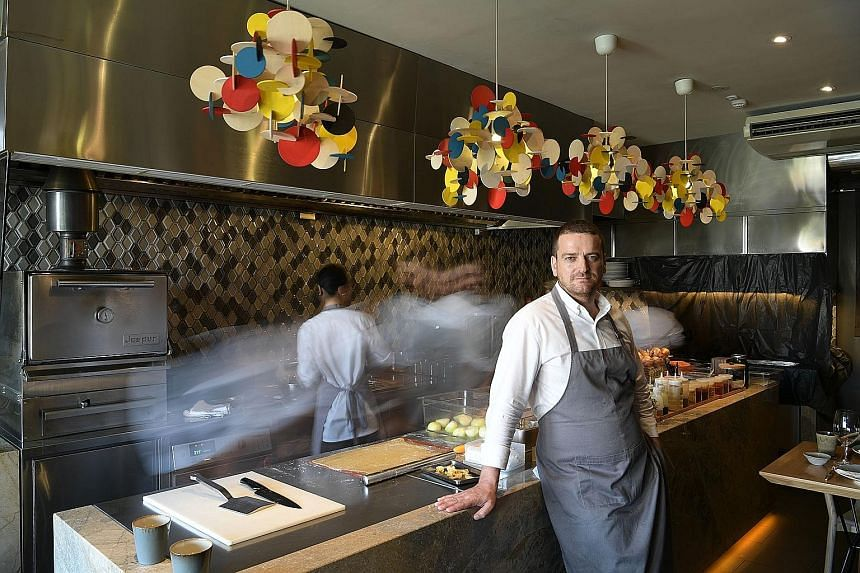 Beppe de Vito thinks things can be improved all the time in his restaurants.